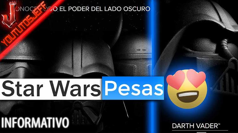 Star Wars lanza sus impactantes Pesas