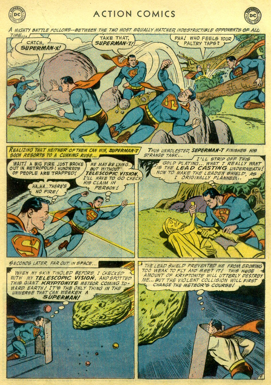 Read online Action Comics (1938) comic -  Issue #222 - 10