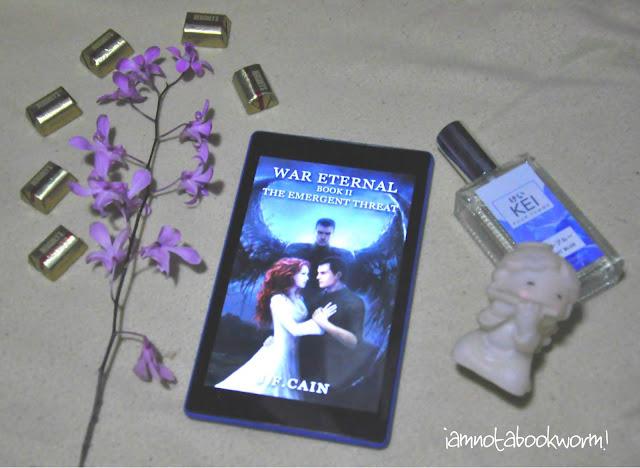 The Emergent Threat (War Eternal #2) by J. F. Cain | A Book Review by iamnotabookworm!