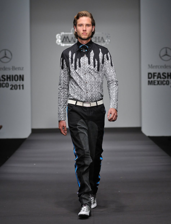 "MALAFACHA: Mercedes Benz DFashion Mexico ""Amor Perdido"