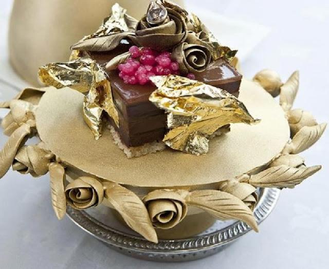 Fabergé Chocolate Cake adalah coklat pudding termahal di dunia