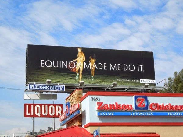 Equinox Made me do it run naked billboard