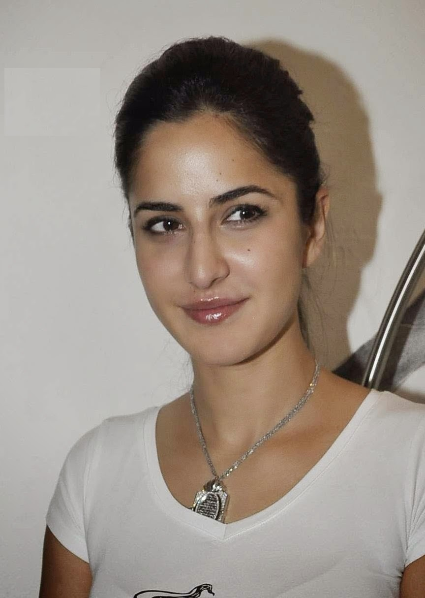 Glamorous Katrina Kaif Hot Photos In White T Shirt Blue Jeans