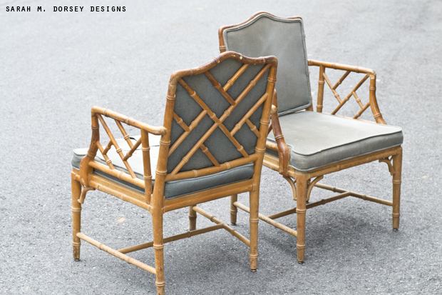 sarah m. dorsey designs: Chinese Chippendale Chairs