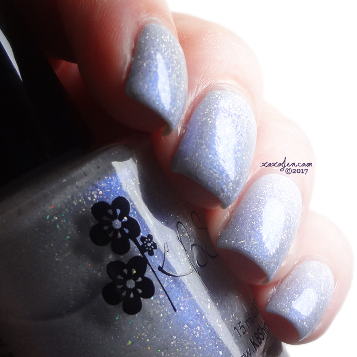 xoxoJen's swatch of KBShimmer Up To Snow Good