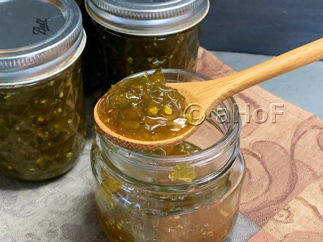 Green Tomato Jam
