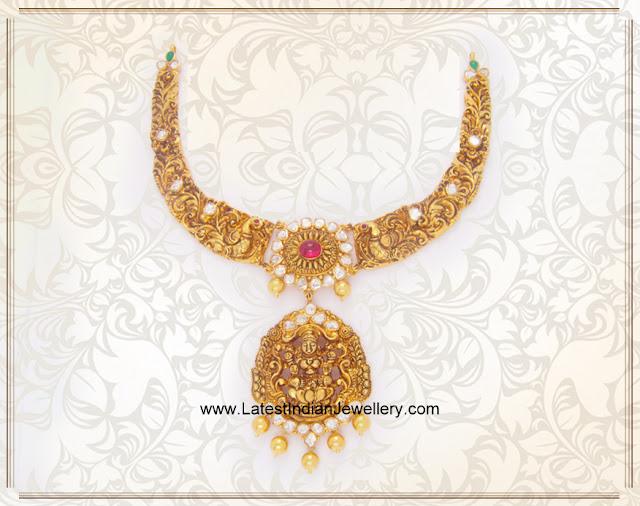 Mayuri Lakshmi Necklace