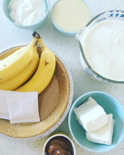 Pay helado de plátano