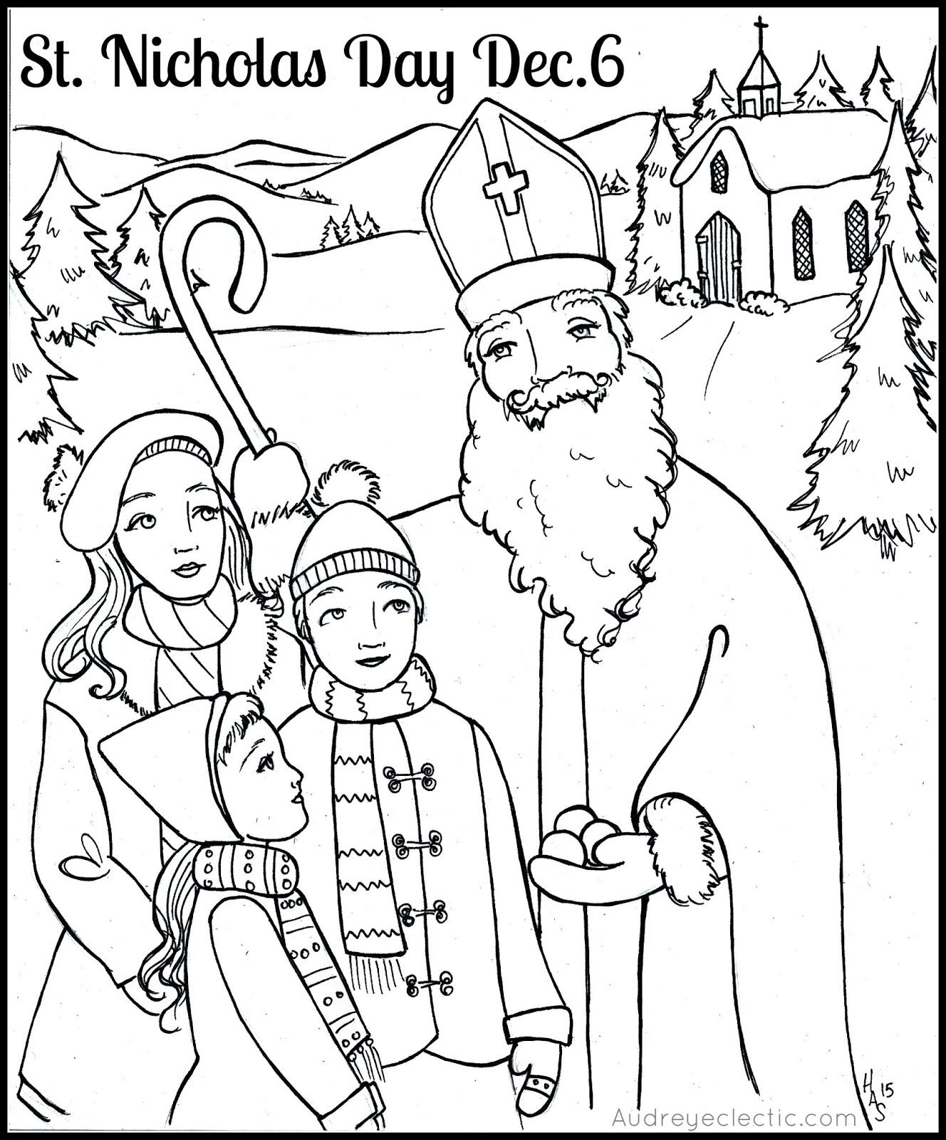 Saint nicholas day coloring pages coloring pages for St nicholas coloring pages