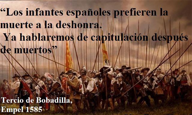 Los Infantes Españoles Prefieren La Muerte A La Deshonra