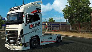 Kelsa skin for Volvo Ohaha 2013