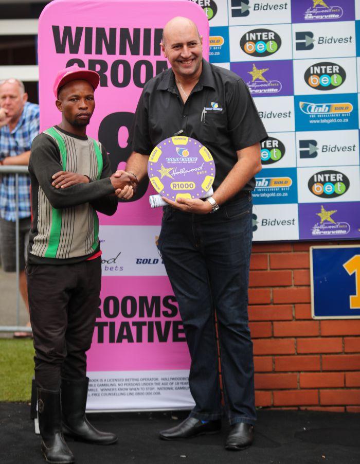 Grooms Initiative Winner - 26th December 2019 - Race 8 - Nathi Siko - VICTORIOUS MAN