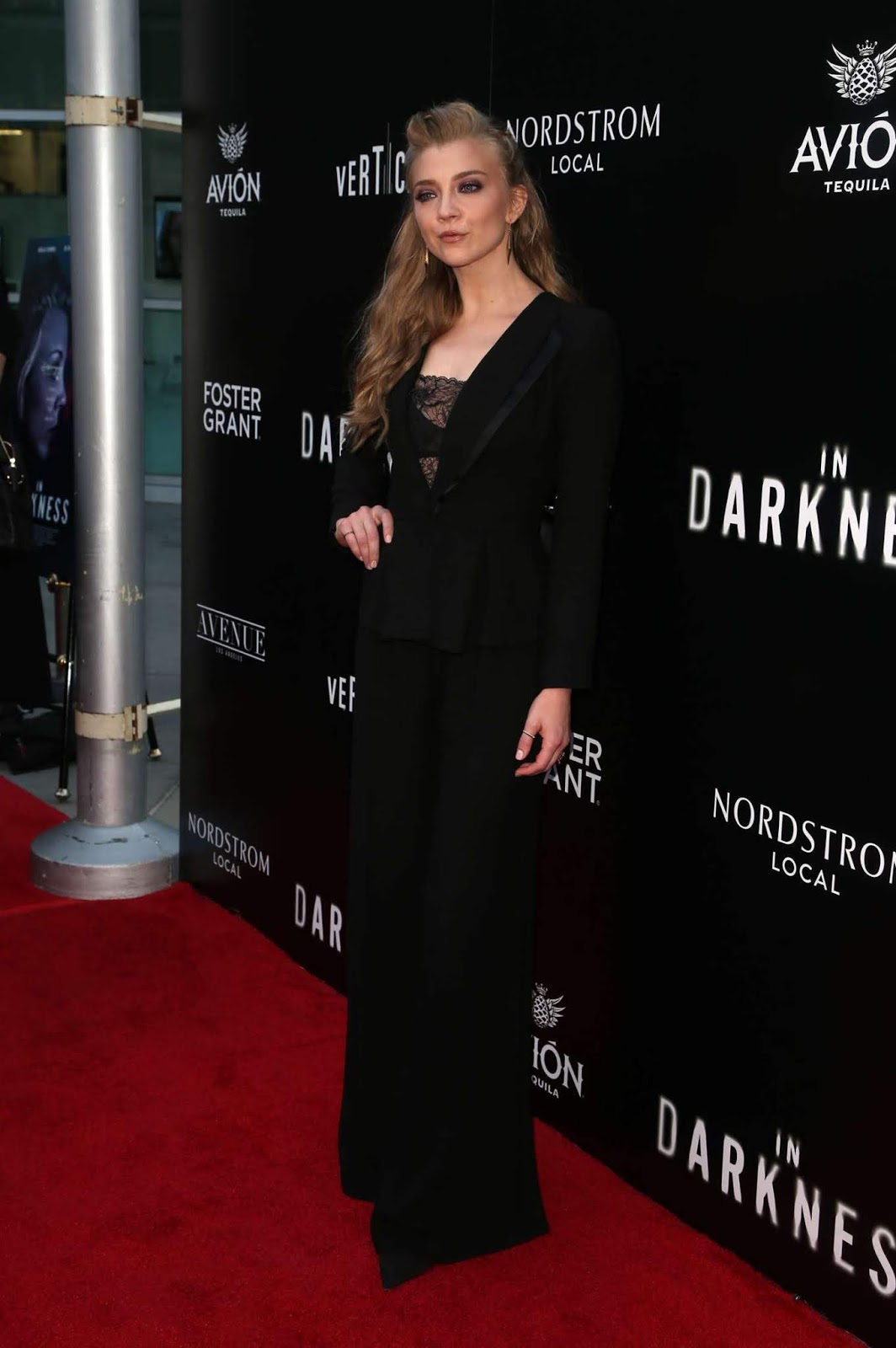 Natalie Dormer – 'In Darkness' Premiere in Los Angeles
