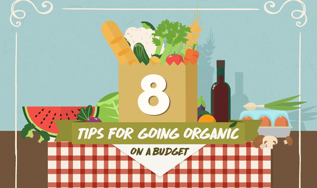 8 Ways to Afford Natural Organic Food on a Budget