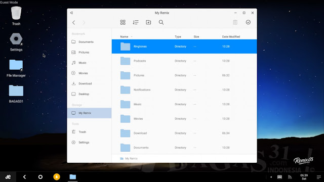 Download Remix OS Terbaru Free