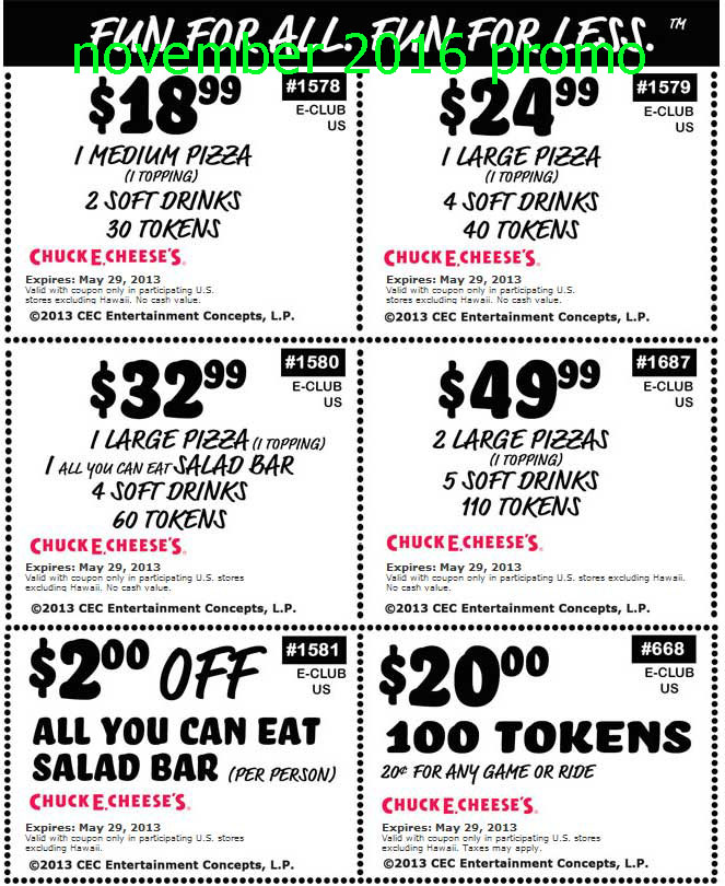 Cheese coupons