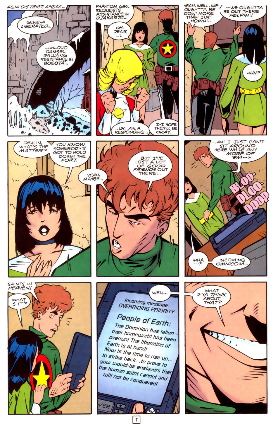 Legion of Super-Heroes (1989) 35 Page 7