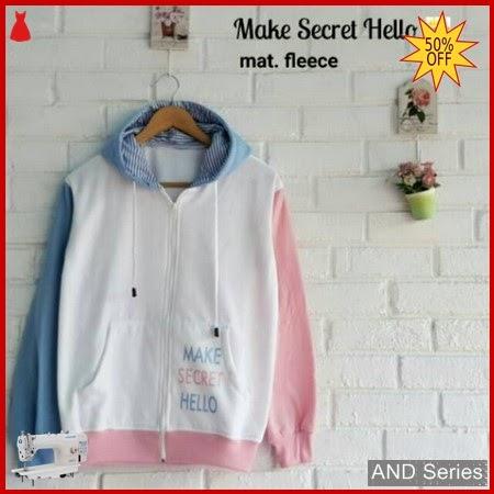 AND202 Sweater Wanita Make Secret Hello BMGShop