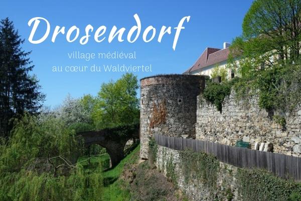 basse autriche waldviertel drosendorf village fortifié