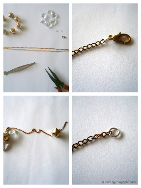 diy step by step necklace