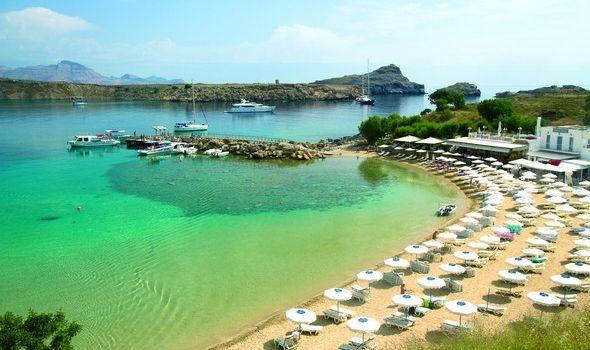 Image result for ρόδος παραλίες