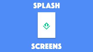 Flutter default splash screen