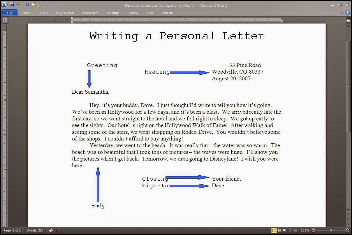 write a letter how to start a letter in informal how to sign a 1746