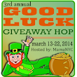 #GoodLuck Giveaway Hop: $25 Starbucks Card {ends 3/22}