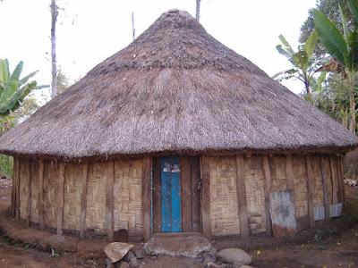Gambar Rumah Adat Papua