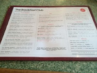 The Breakfast Club Menu