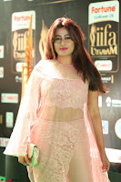 Nidhi Subbaiah Glamorous Pics in Transparent Peachy Gown at IIFA Utsavam Awards 2017  HD Exclusive Pics 36.JPG