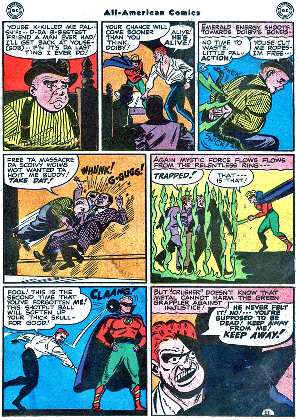 Read online All-American Comics (1939) comic -  Issue #85 - 21