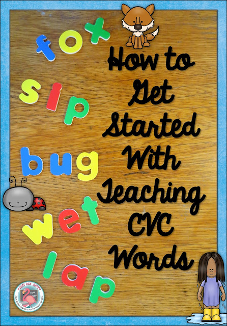 Check out this blog post for an idea for teaching CVC words!
