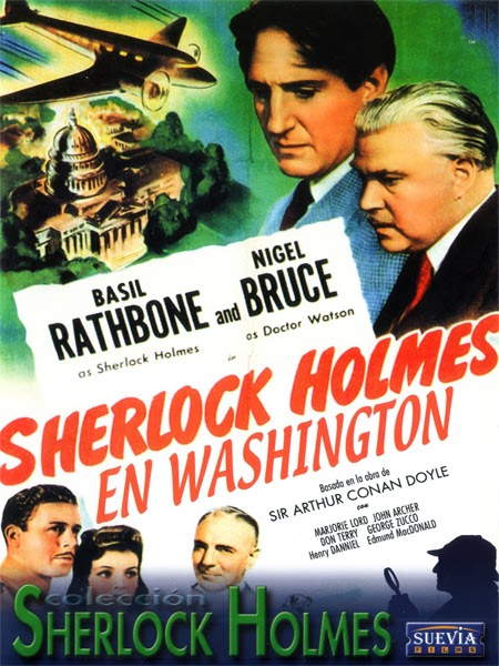 Sherlock Holmes en Washington (1943) Español DescargaCineClasico.Net