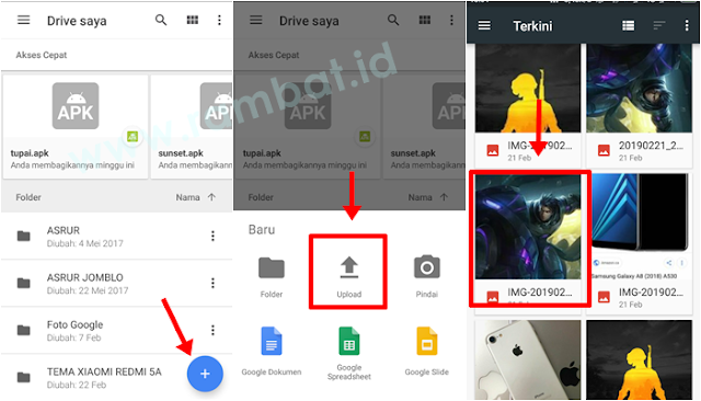 Cara Memindahkan Foto dari HP ke PC/Laptop dengan Google Drive