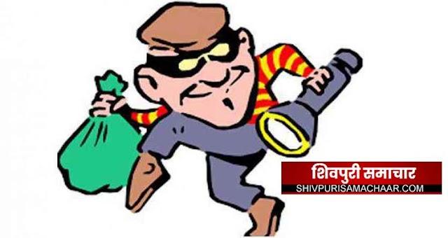 आयकर कॉलोनी में घुसे चोर, गार्ड ने देखा तो लगा दी दौड, मामला दर्ज | Shivpuri News