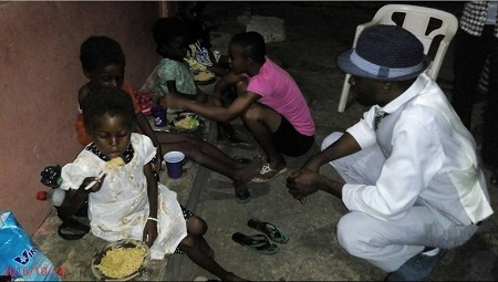 Omg!!! These 4 Little Girls Have Been Abandoned by their Parents for Being Witches in Akwa Ibom (Photos