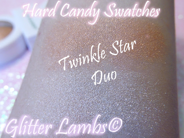 Makeup Highlighters- Hard Candy Just Glow Baked Illuminating Powder Duo - Twinkle Star- Review by Glitter Lambs