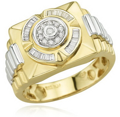She Fashion 2012 Gold Rings For Men Designs