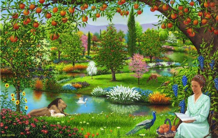 belajar alkitab pohon di tengah taman eden