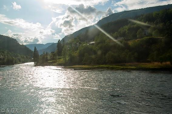 Paisajes del tren de Oslo a Bergen