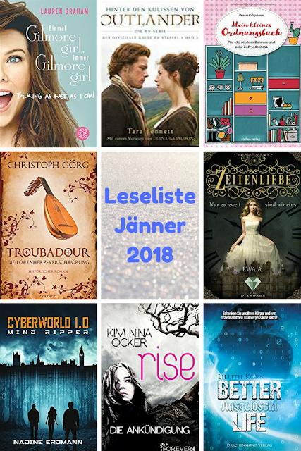 Leseliste Jänner 2018