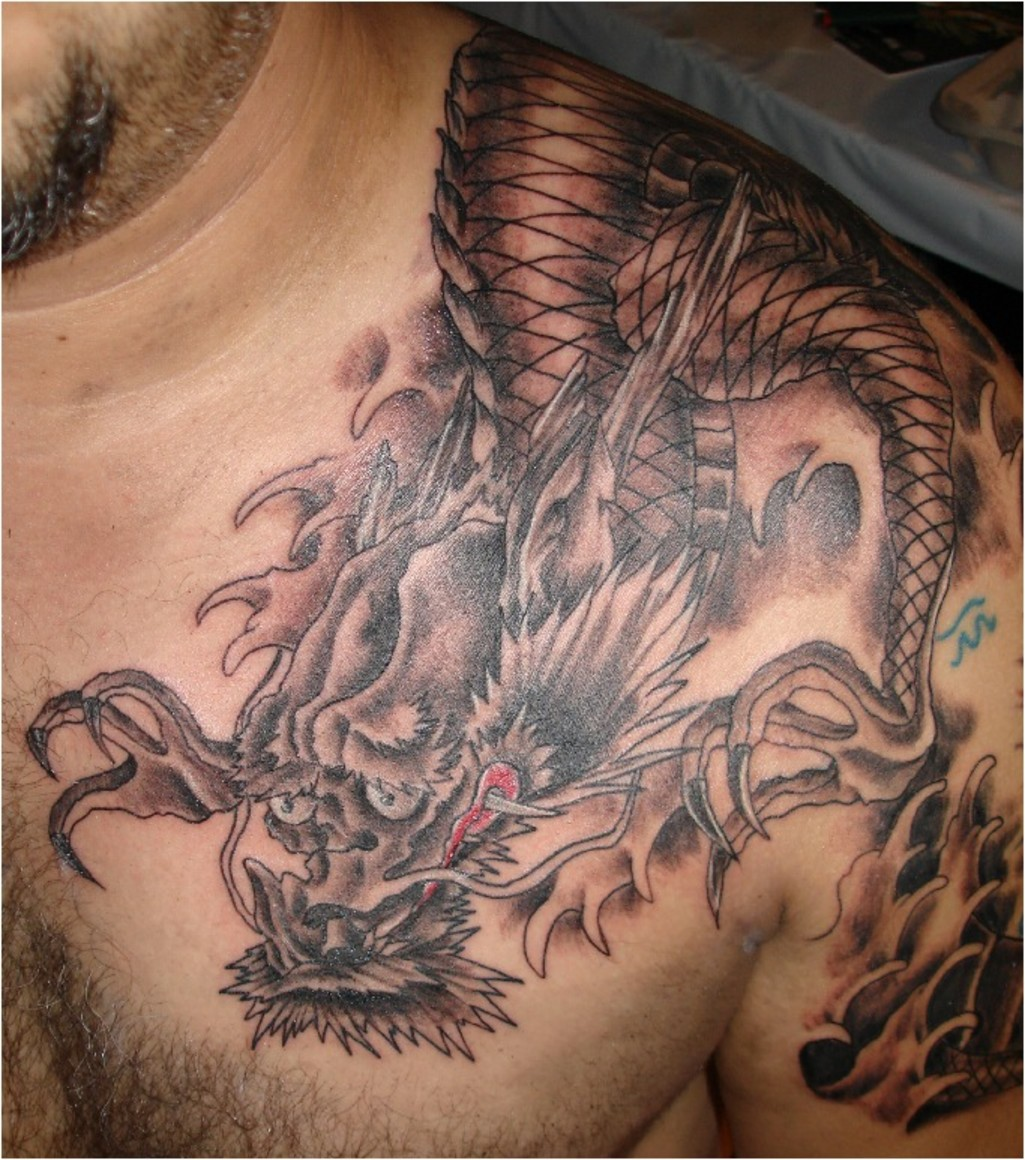 Dragon Tattoos: Tattooz Designs: Dragon Tattoos For Men