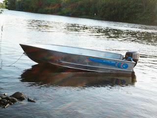 aluminium boot tweedehands