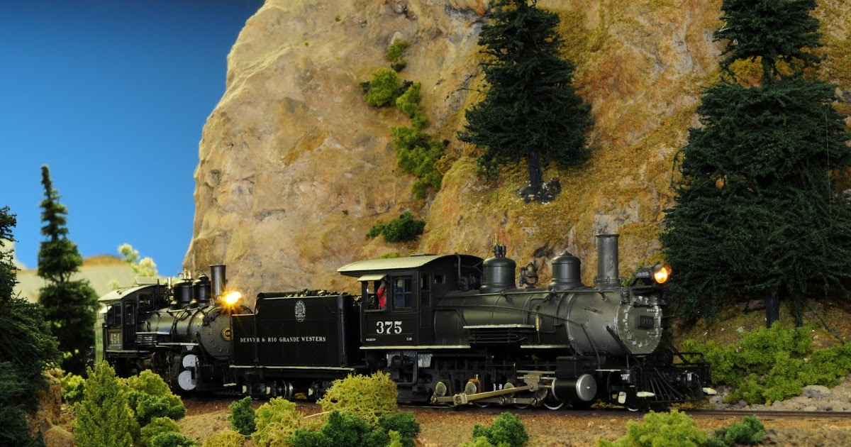 Modeling Colorado Narrow Gauge in HOn3 DCC for the D  RGW