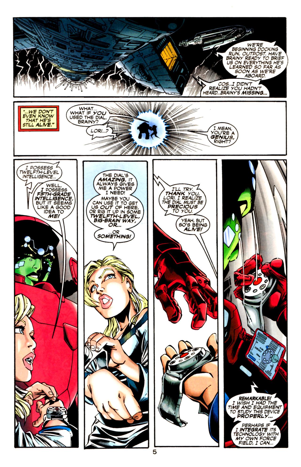 Legion of Super-Heroes (1989) 125 Page 5