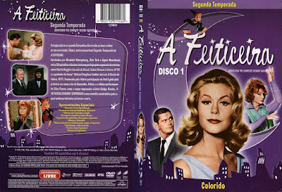 Série A Feiticeira 2º Temporada DVD Capa