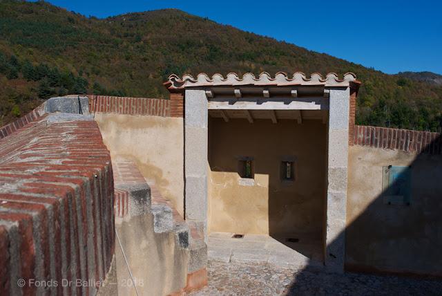 Fort Lagarde… Latrines organisées défensivement