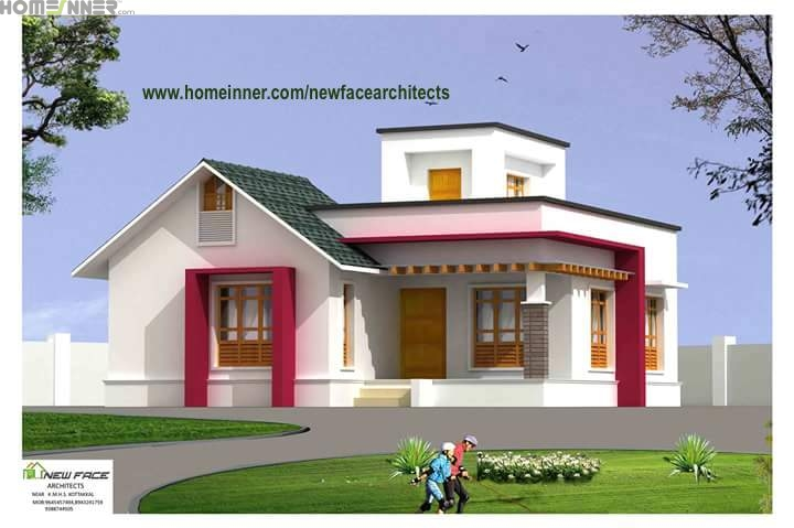 Kerala Home Design 900 Sq Feet Part - 20: 1493 Sq Ft 3 BHK Duplex House Design | Duplex House Design, Modern House  Design And House
