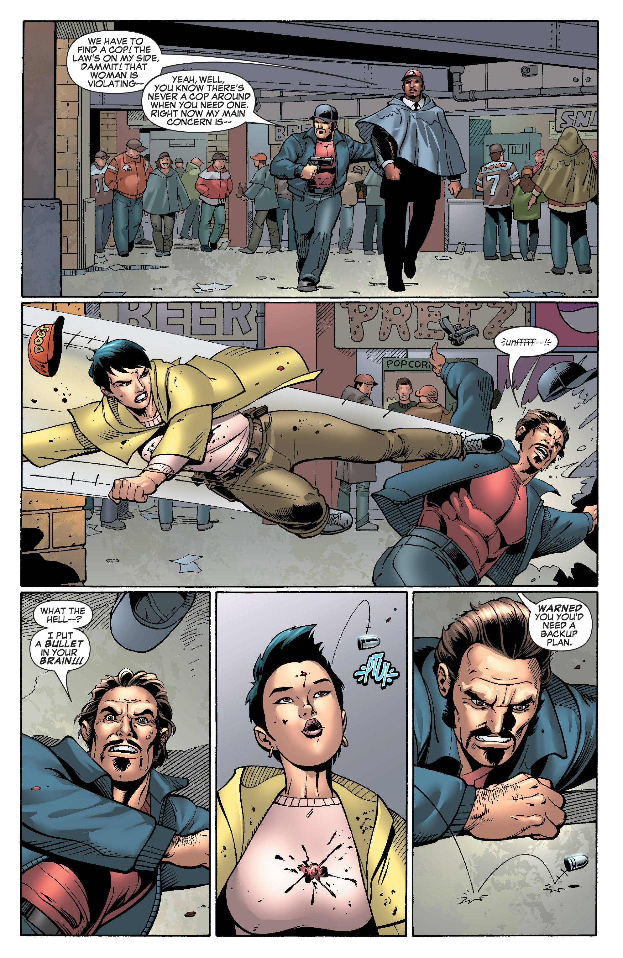 Read online She-Hulk (2005) comic -  Issue #28 - 18